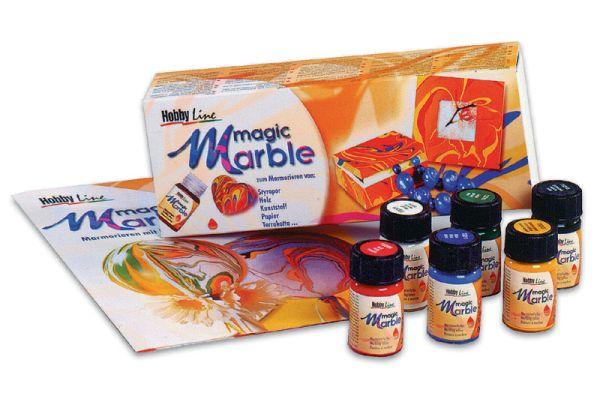 """MAGIC MARBLE - Комплект за """"мраморна"""" техника № 73600"""