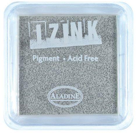 IZINK PAD PIGMENT - Среден тампон 4х4см  - GREY
