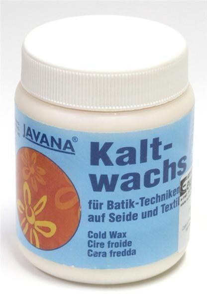 JAVANA COLD WAX 250ml - Безцветен маскиращ восък за коприна