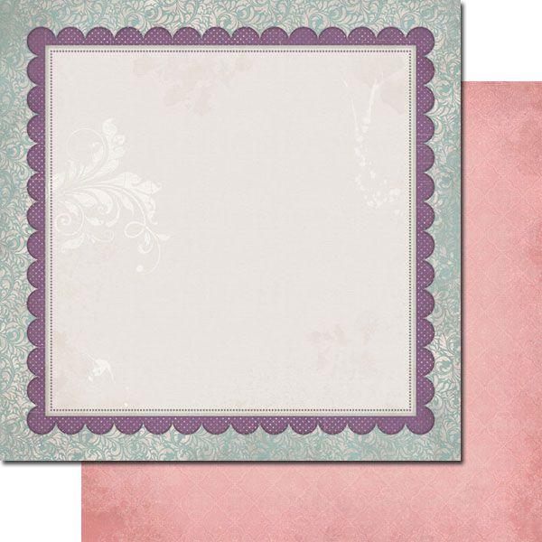 7 DOTS STUDIO # ALL I EVER  - Дизайнерски скрапбукинг картон 30,5 х 30,5 см.