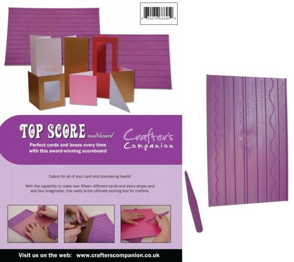# TOP SCORE – Инструмент за картички и кутии