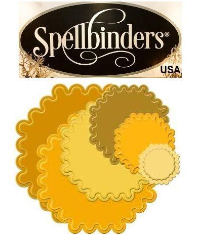 Spellbinders USA - Универсални шаблони за изрязване и ембос sbs4-188