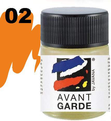 AVANTGARDE STEAM FIX - Боя за коприна с парна фиксация 50 мл. ORANGE