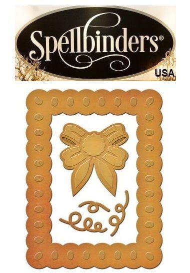 FRAME Spellbinders USA DIES - шаблон за изрязване и ембос s2-190