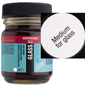Decorfin Glass MEDIUM, TALENS -  Медиум за витражна боя 50 мл.