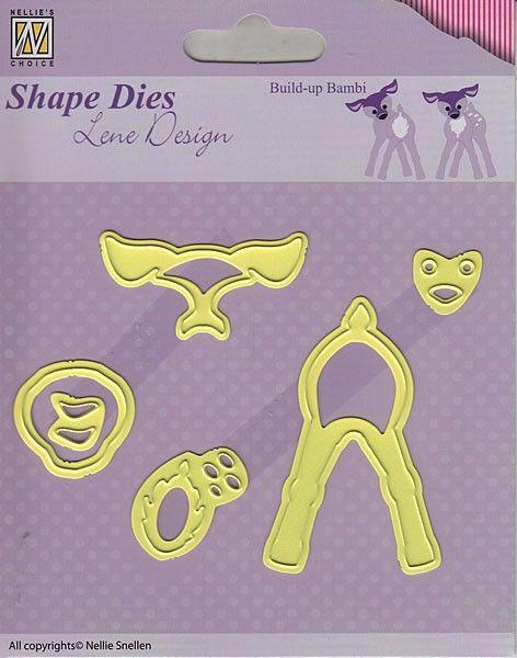 Lene Design DIES - Фигурална щанца за рязане и релеф,. SDL027