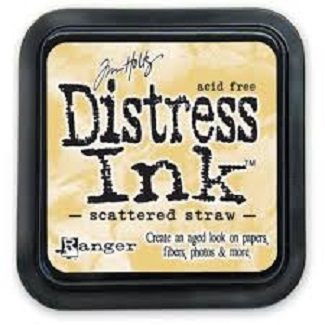 "Distress ink pad by Tim Holtz - Тампон, ""Дистрес"" техника - Scattered straw"