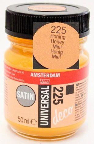 DECORFIN Universal satin, TALENS - Екстра фин акрил 50 ml, 225 HONEY