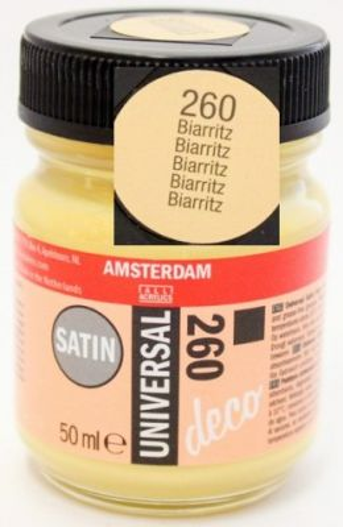 DECORFIN Universal satin, TALENS - Екстра фин акрил 50 ml, 260 BIARRITZ