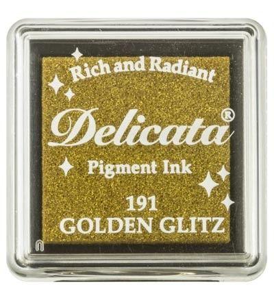 "DELICATA Metallic ""Golden Glitz"" - Тампон с мастило ""течно злато"""