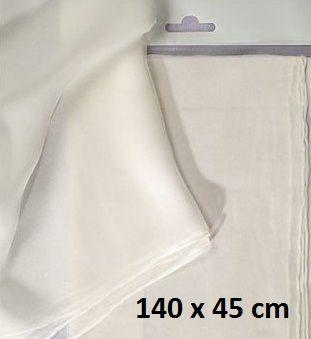 JAVANA SILK PONGE SCARF - Поръбен шал от естествена коприна 140 Х 45 см.
