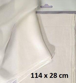 JAVANA SILK PONGE SCARF - Поръбен шал от естествена коприна 114 x 28 см.