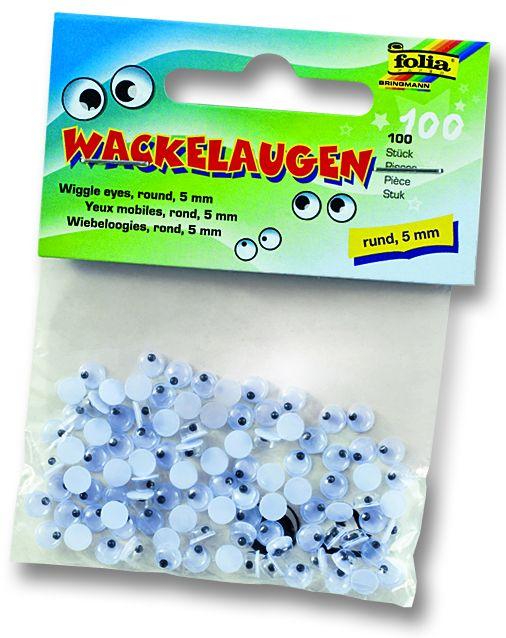Декоративни очички - 5 мм. пакет 100 бр.