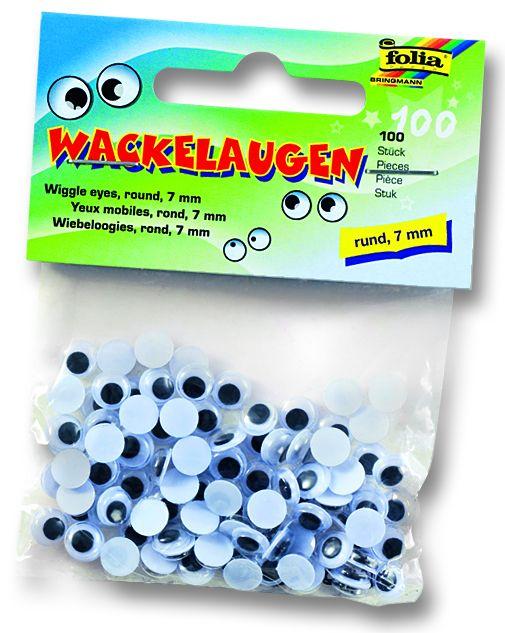 Декоративни очички - 7 мм. пакет 100 бр.