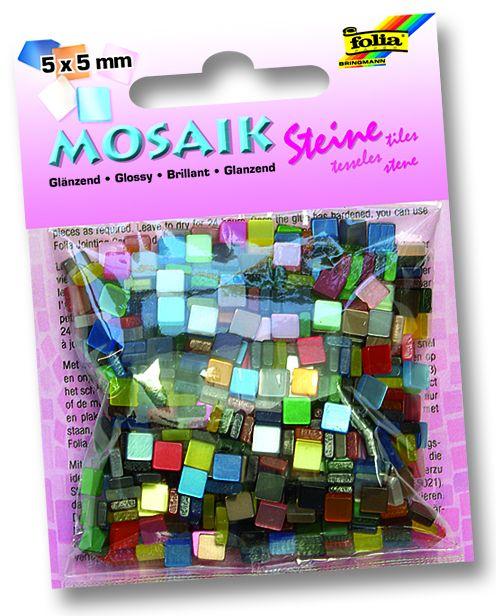 MOSAICS - Мозайка 5Х5мм ,700бр. - гланц микс