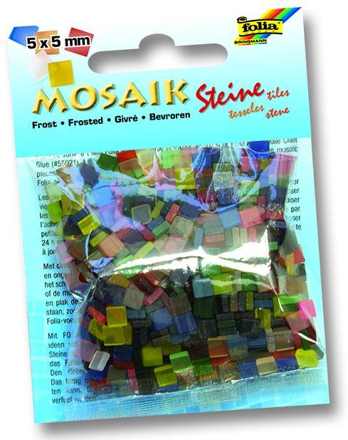 MOSAICS - Мозайка 5Х5мм 700бр. -мат микс