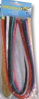 Пухена тел Folia 10 цвята микс - 50см/8мм