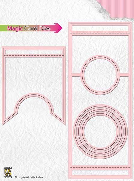 CARD Special Die - Фигурални щанци за рязане и релеф,  MCD003