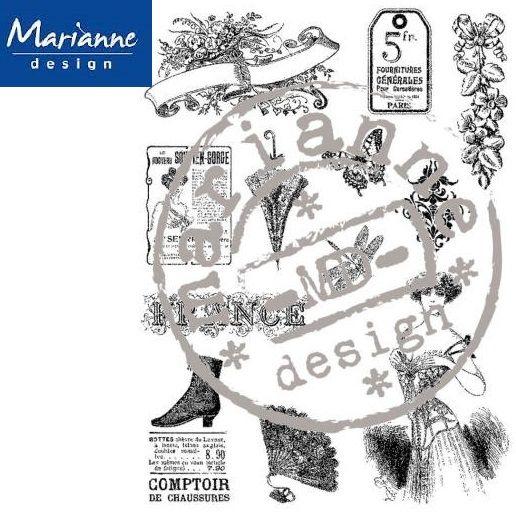 MD  - Дизайн прозрачен печат