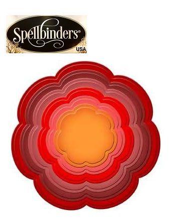 Spellbinders USA - Универсални метални шаблони за изрязване и ембос