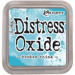 DISTRESS OXIDE тампон - BROKEN CHINA