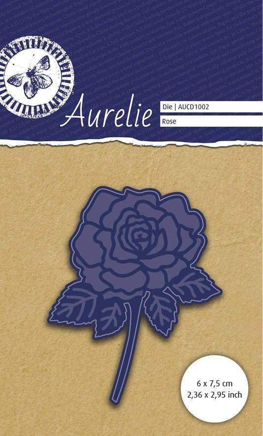 AURELIE ROSE  Die  - Фигурална щанца за рязане и релеф