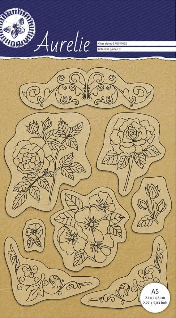 AURELIE GARDEN 2  - Дизайнерски прозрачни печати