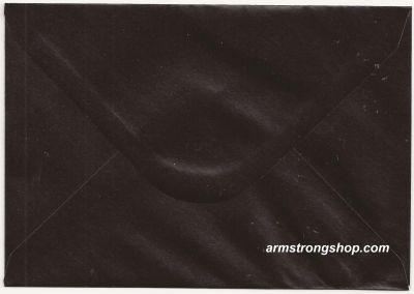 CENTURA ENVELOPES C6 England - Перлени пликове 114 X 162 мм. BLACK