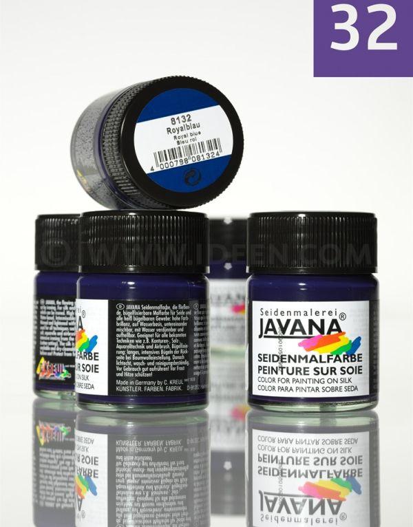 JAVANA SILK 50ml- Пигментна боя за рисуване върху коприна,