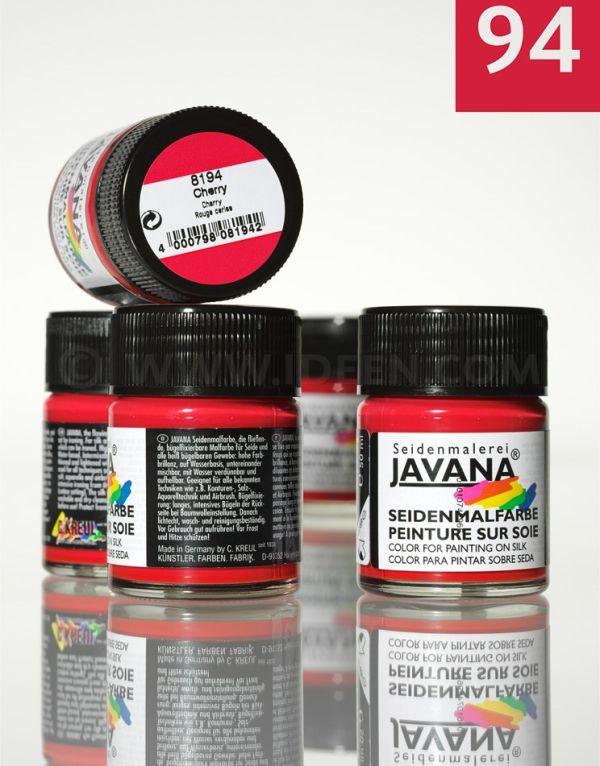 JAVANA SILK 50ml - Пигментна боя за рисуване върху коприна