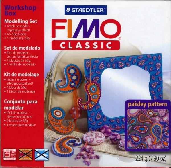ФИМО Workshop paisley pattern