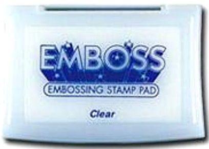 EMBOSS PAD CLEAR - Tампон за топъл ембосинг  TSUKINEKO