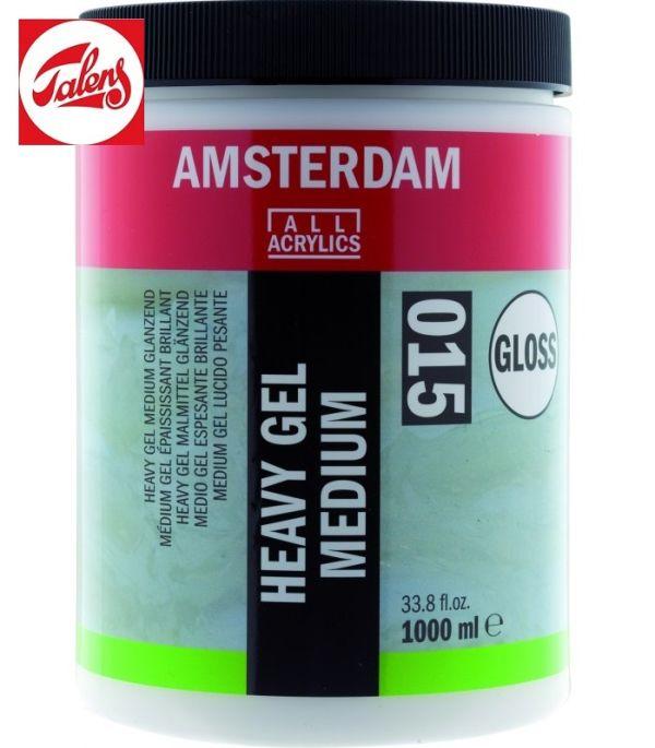 Amsterdam HEAVY GEL MEDIUM GLOSS , Talens - ТЕЖЪК ГЕЛ МЕДИУМ ГЛАНЦ  1000мл