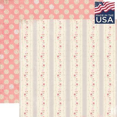 AUTHENTIQUE USA # SPECIAL 12 X 12  - Дизайнерски скрапбукинг картон 30,5 х 30,5 см.