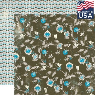 AUTHENTIQUE USA #  PROMENADE 12 X 12  - Дизайнерски скрапбукинг картон 30,5 х 30,5 см.