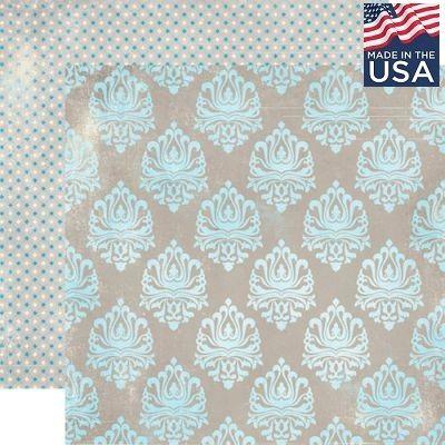 AUTHENTIQUE USA #  JAUNT 12 X 12  - Дизайнерски скрапбукинг картон 30,5 х 30,5 см.