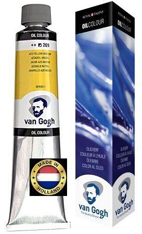 VAN GOGH OIL - Маслена боя 200 мл  YELLOW MEDIUM / 269