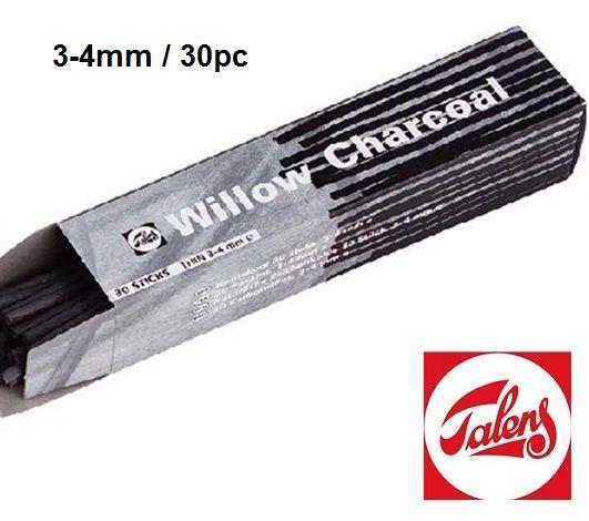 # CHARCOAL Talens - Натурален въглен кутия 3-4 мм / 30 бр.