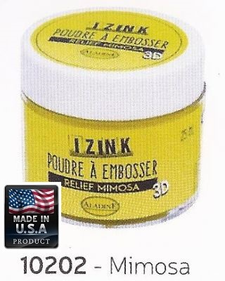 ALADINE EMBOSSING POWDER  , USA - Фина ембосинг пудра 25ml MIMOSA