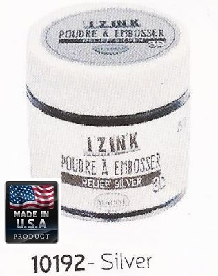 ALADINE EMBOSSING POWDER , USA - Фина ембосинг пудра 25ml SILVER