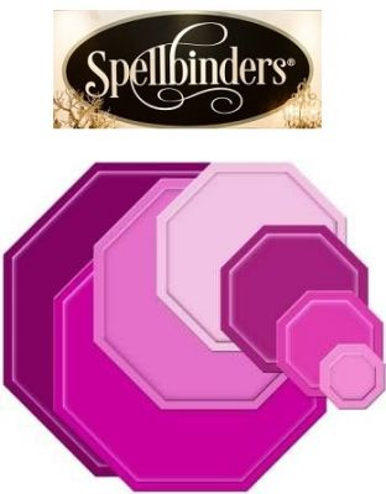 Spellbinders USA 7pc - Универсални шаблони за изрязване и ембос s4-185