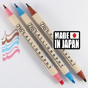 CALLIGRAPHY BLENDING Collection ZIG - Калиграфски комплект двувърхи маркери HOPE