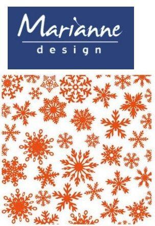 Marianne Design Emboss folder - Папка за релеф  12x12 см DF3420
