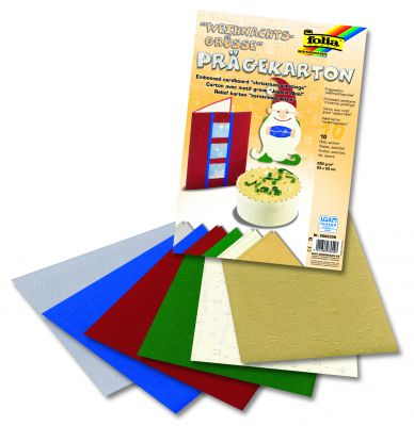"XMAS GREETINGS Pack - Скрапбукинг  пакет картони "" КОЛЕДА """