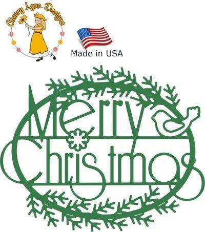 Cheery Lynn ,USA - Шаблон за рязане и ембос / b377