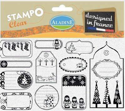 ALADINE STAMPS XL  - Прозрачни  печати 11Х19см