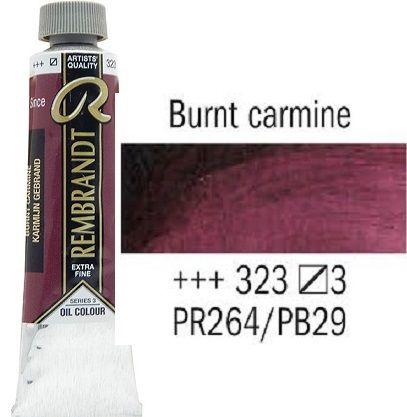 REMBRANDT Екстра Фини Маслени Бои 40 мл. - Burnt Carmine 3, № 323