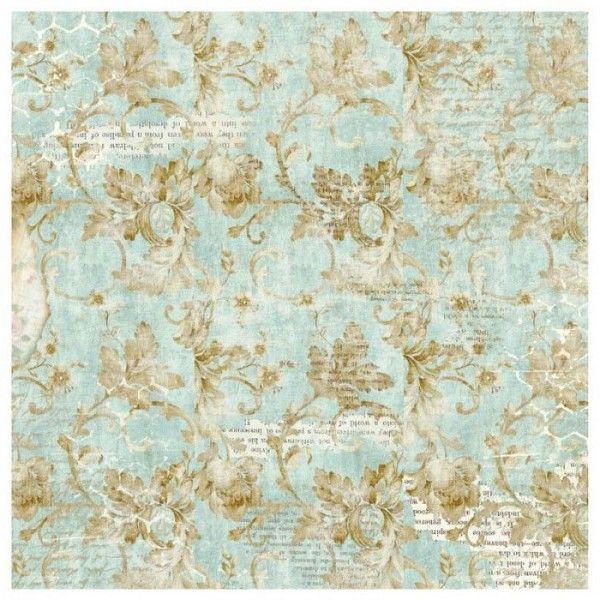 STAMPERIA Riso 14gr - Фина оризова декупажна хартия 50х50см / DFT337