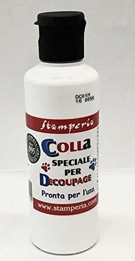 DECOUPAGE glue, Stamperia - Декупажно лепило 60мл.