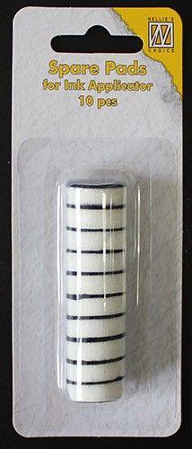 INK Refill FOAM ROUND - Резервни тампони за апликатор IAP004, 10бр.